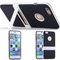 2015-Black-Ultra-Slim-Soft-TPU-Kickstand-Case-for-iphone-6-5-5-Back-Cover-Cell
