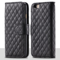 Luxury-Sheep-Grid-Skin-Flip-Phone-Case-for-iphone-6-i6-4-7-Retro-Wallet-Stand