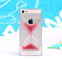 Brown-New-arrival-Crystal-Clear-Sand-Clock-Sand-Glass-Transparent-Flowing-Hourglass-Pattern-Back-Cover-Phone-Case