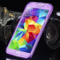 Crystal-Clear-Soft-TPU-Gel-Cell-Phone-Case-For-Samsung-Galaxy-S5-SV-I9600-Luxury-Ultra