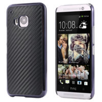 For-HTC-M9-Cases-Luxury-Carbon-Fiber-Plated-Metal-Case-For-HTC-One-M9-Super-Slim