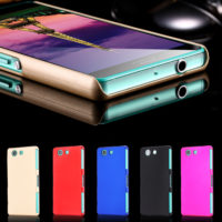New-Affordable-Luxury-Oil-Smooth-Hard-Plastic-Case-For-Sony-Z3-Mini-Super-Slim-Thin-Back