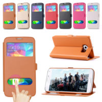 Super-Deal-S5-Cases-Fashion-Ultra-Thin-View-Window-Leather-Case-For-Samsung-Galaxy-S5-I9600 (1)